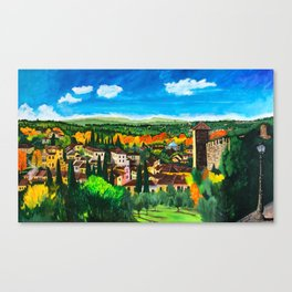 View from Boboli Canvas Print