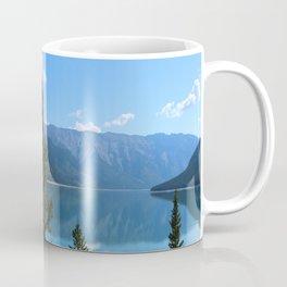 Beautiful Lake Minnewanka Coffee Mug