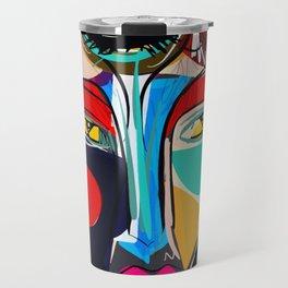 Looking for the third eye street art graffiti Travel Mug