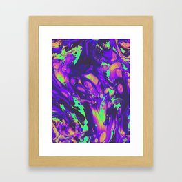 TURN ON THE BRIGHT LIGHTS Framed Art Print