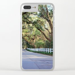 Old South Live Oaks Clear iPhone Case