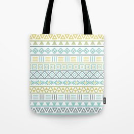 Aztec Influence Ptn Colorful Tote Bag
