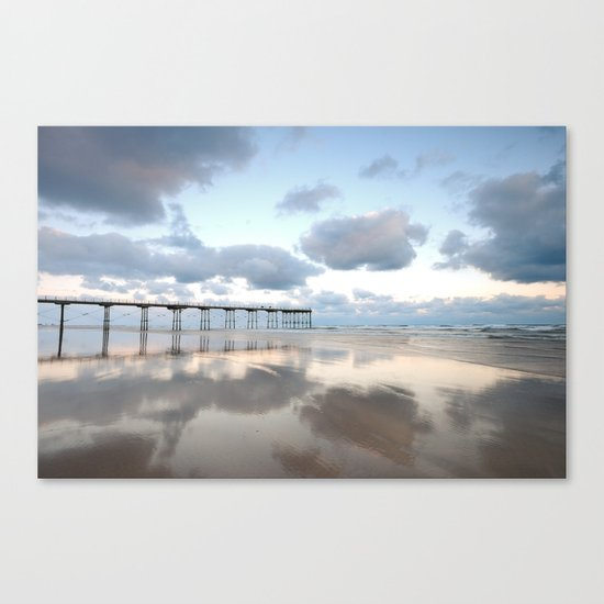 Saltburn by the Sea Canvas Print