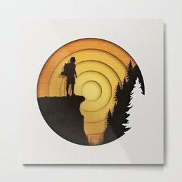 Sunset Journey Metal Print