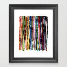 fancy stripes 1 Framed Art Print
