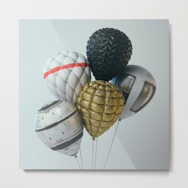 Balloons #5 Metal Print