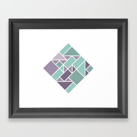 Shapes 006 Framed Art Print