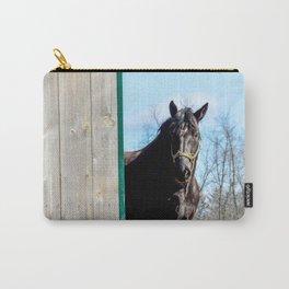 Percheron Horse by Teresa Thompson Carry-All Pouch