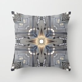 Structure of Stairs Throw Pillow