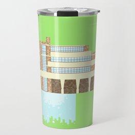 Iconic Houses - Fallingwater Travel Mug