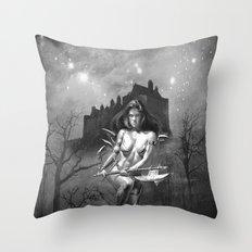 The Castle Princess Throw Pillow