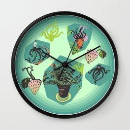 Doodles 2 Wall Clock