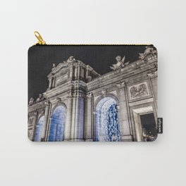 Puerta de Alcala in Madrid at night Carry-All Pouch