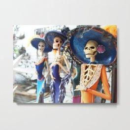 Dia de los Muertos - Puerto Vallarta, Mexico Metal Print