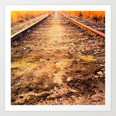 On Track Art Print