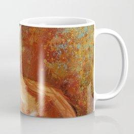 Abstract Red Fox Coffee Mug