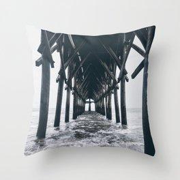 Carolina Pier  Throw Pillow