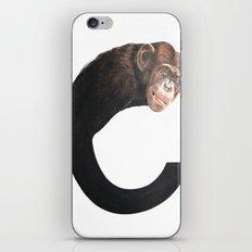 C-Chimpanzee iPhone & iPod Skin