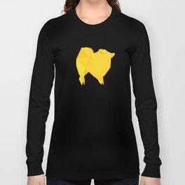 Origami Spitz Long Sleeve T-shirt