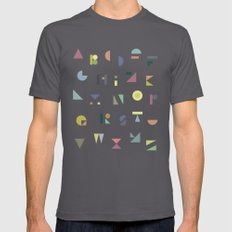 ABC colorful SMALL Asphalt Mens Fitted Tee