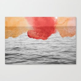 Fine art - Color me - Sea Canvas Print