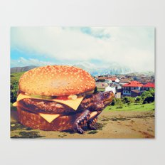 Con Queso Canvas Print