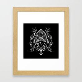 PROST! Framed Art Print
