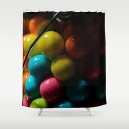 Bubblegum in Container Shower Curtain