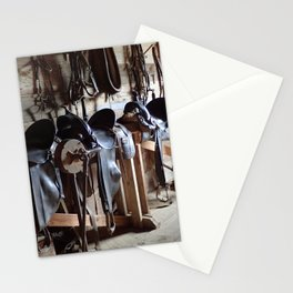 Tack Room Stationery Cards