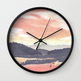 At the end of Summer | Miharu Shirahata Wall Clock