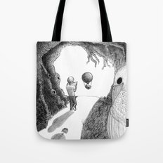 Walking with a Friend Tote Bag