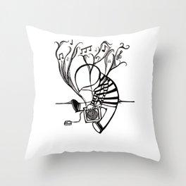 MUSIC MAN. Throw Pillow