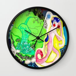Collage 43 Wall Clock