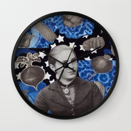 She Dreamed of Willow Ware Wall Clock