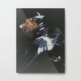 DEATH & ROSES II Metal Print