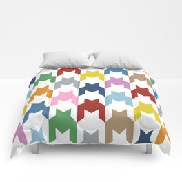 M Dog Tooth Comforters