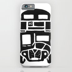 London bus linoprint Slim Case iPhone 6s