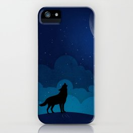 HAUWLING WOLF iPhone Case