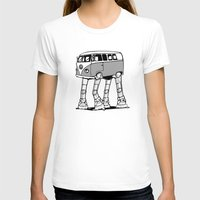 volkswagon T-shirts featuring VW Minibus AT-AT Walker by robotface