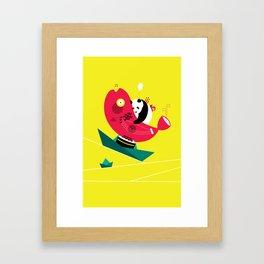 Quiet Boat Framed Art Print