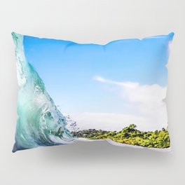 Tropical Wave Pillow Sham