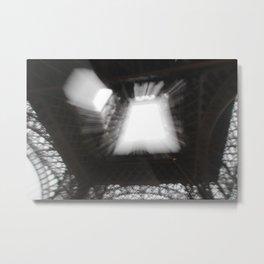 Eiffel Tower Multiple Exposures Metal Print