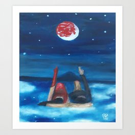 Dreams by Lu Art Print