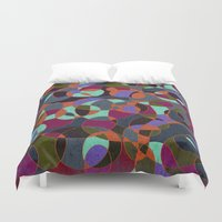 mosaic Duvet Covers featuring  Mosaic by Tony Vazquez