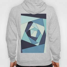 Layers of Blues Hoody