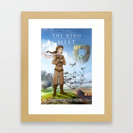 The Wind in the Mist Framed Art Print