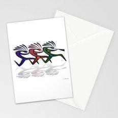 RUNNING  KOKOPELLI II Stationery Cards
