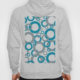 AI Aqua 098-59-30 Coloro 2021 Color Of the Year and Good Gray 122-66-02 Funky Geometric Rings Hoody