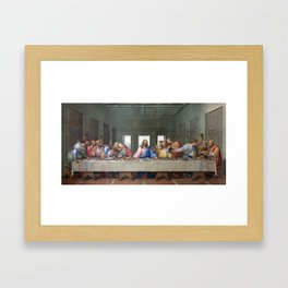 The Last Supper by Leonardo da Vinci Framed Art Print