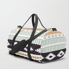Aztec Pattern No. 21 Duffle Bag